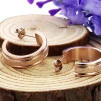 ατσάλινα-σκουλαρίκια-σε-ροζ-χρυσό